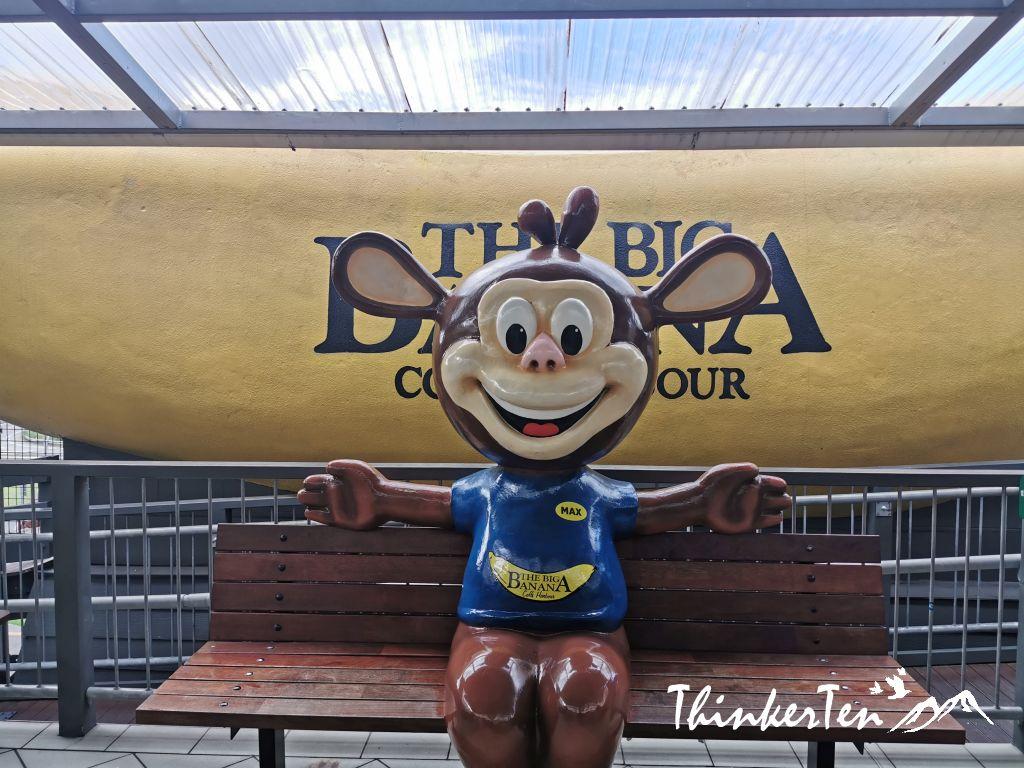 Australia's Big Things : Big Banana in Coffs Harbour NSW