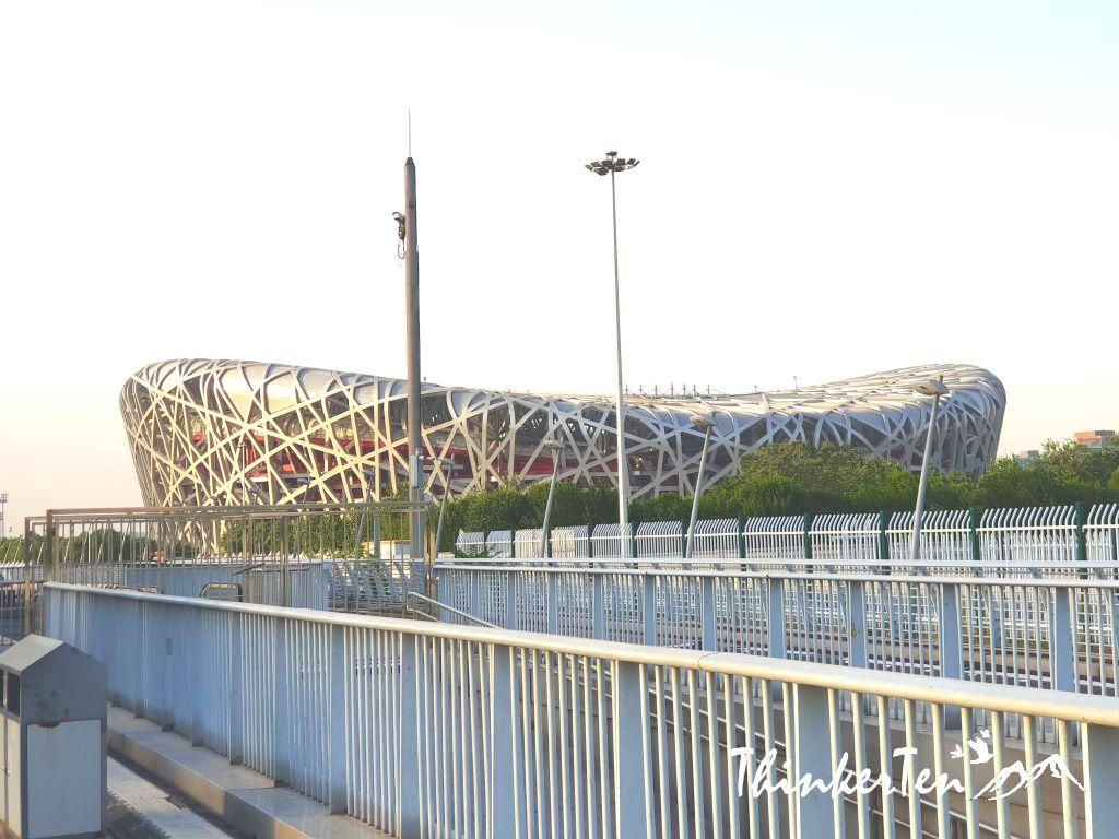 World's Largest Steel Structure - Beijing Bird's Nest Stadium