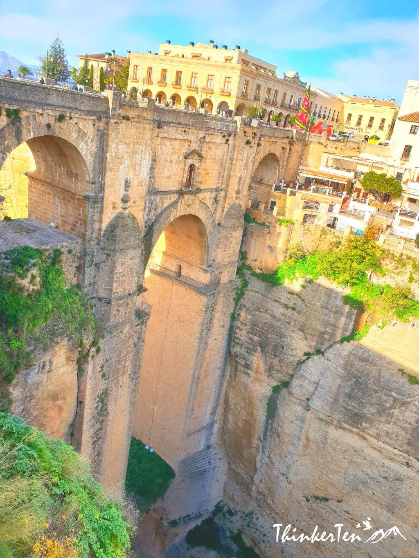 Puente Nuevo an iconic stone bridge in Ronda Spain