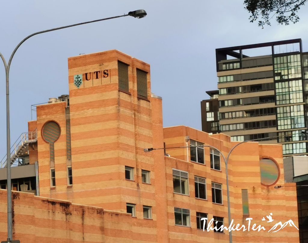 """""""The Brown Papaer Bag"""" in Sydney UTS (University of Technology Sydney)"""