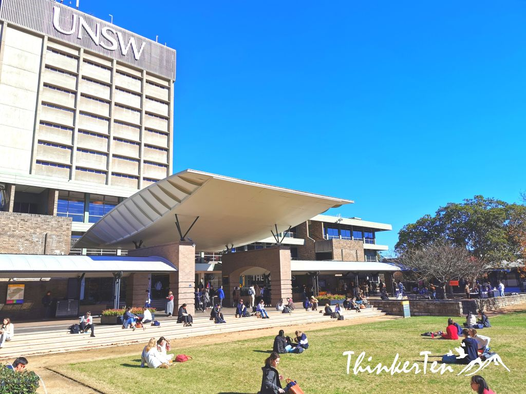 UNSW (University of New South Wales) Campus Touring, Sydney Australia