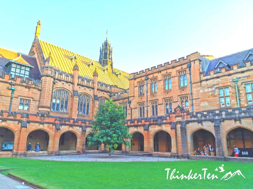 University of Sydney - The oldest university in Australia