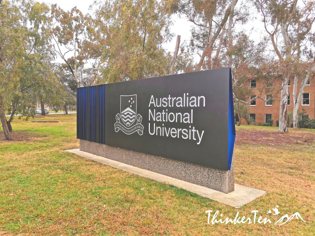 The Australian National University (ANU) in Canberra - Careful with Ducks!