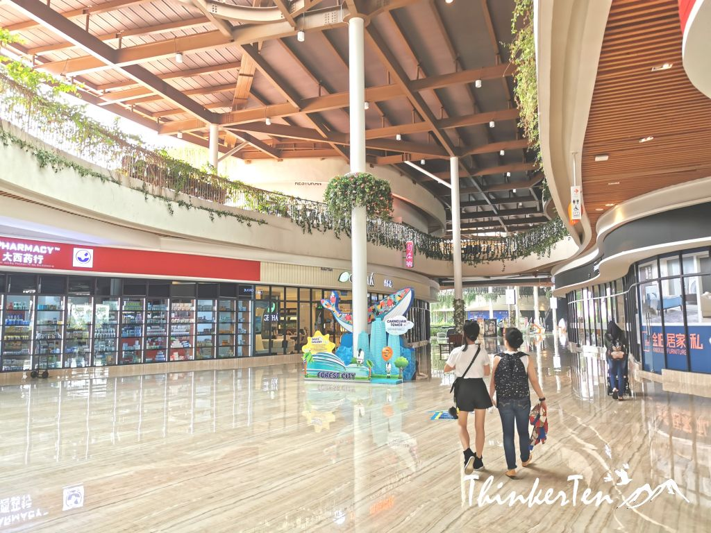 Malaysia JB, Forest City Shopping Street & Eateries Street Review