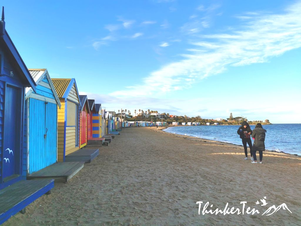 Brighton Bathing Boxes Melbourne, Australia - History & Sales Price of these colorful Boxes