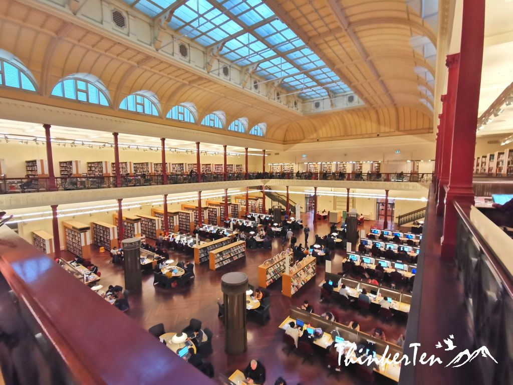 Why you need to visit the State Library Victoria in Melbourne