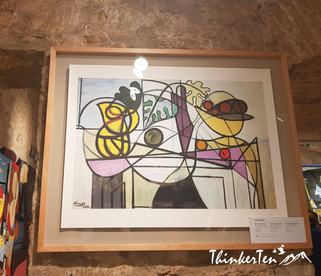 What you would see in Picasso Museum in Barcelona?