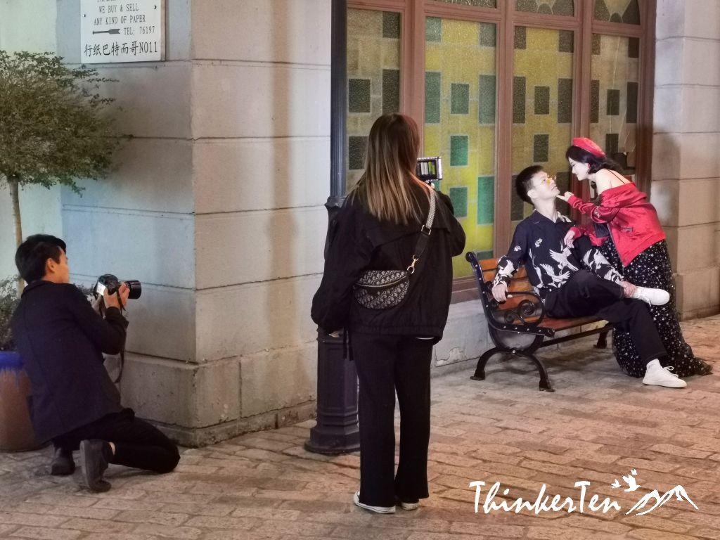 China Hengdian World Studio - Guangzhou Street & Hong Kong Street 横店影视城广州街香港街
