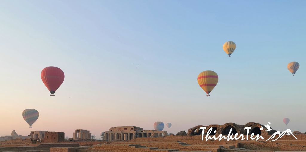 What to expect on Luxor Hot Air Balloon Experience in Egypt!