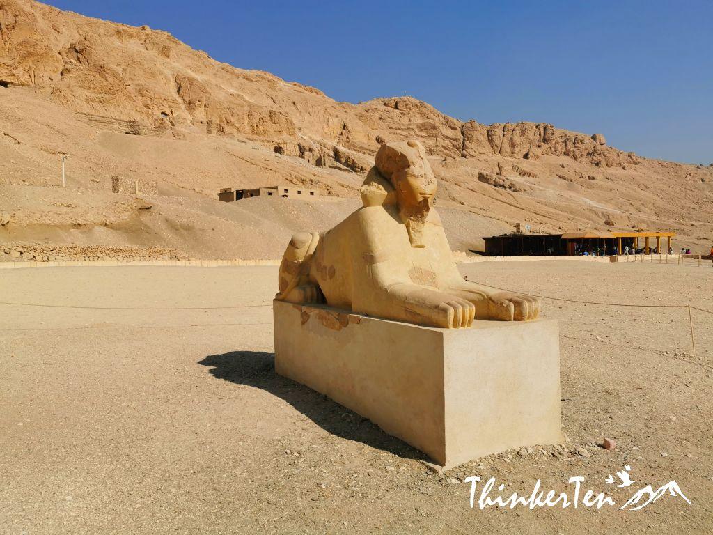 Temple of Hatshepsut & Alabaster factory in Luxor, Egypt