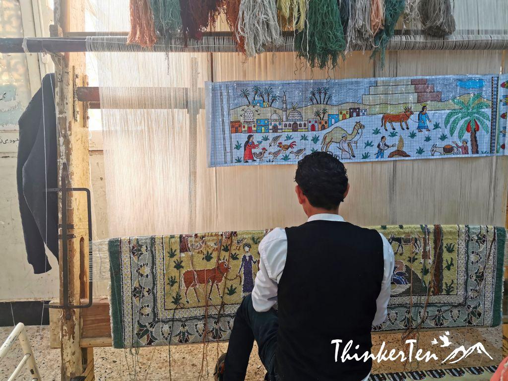 Memphis Museum & The Carpet School in Egypt