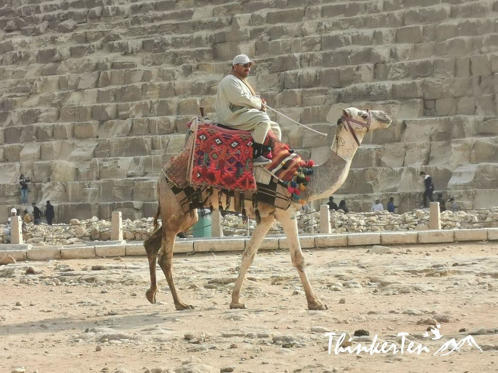 The Scam in the Great Pyramids of Giza Egypt