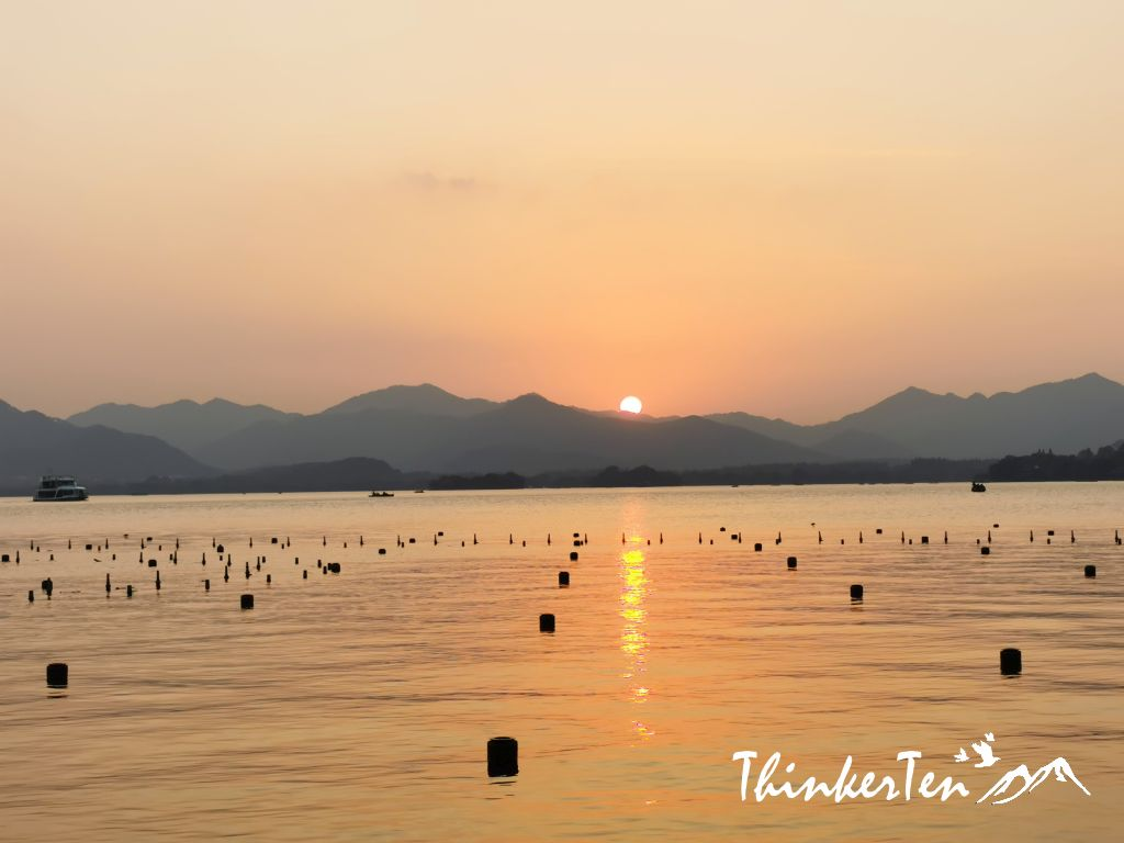 Hangzhou West Lake Where Jack Ma from Ali Baba met Morley