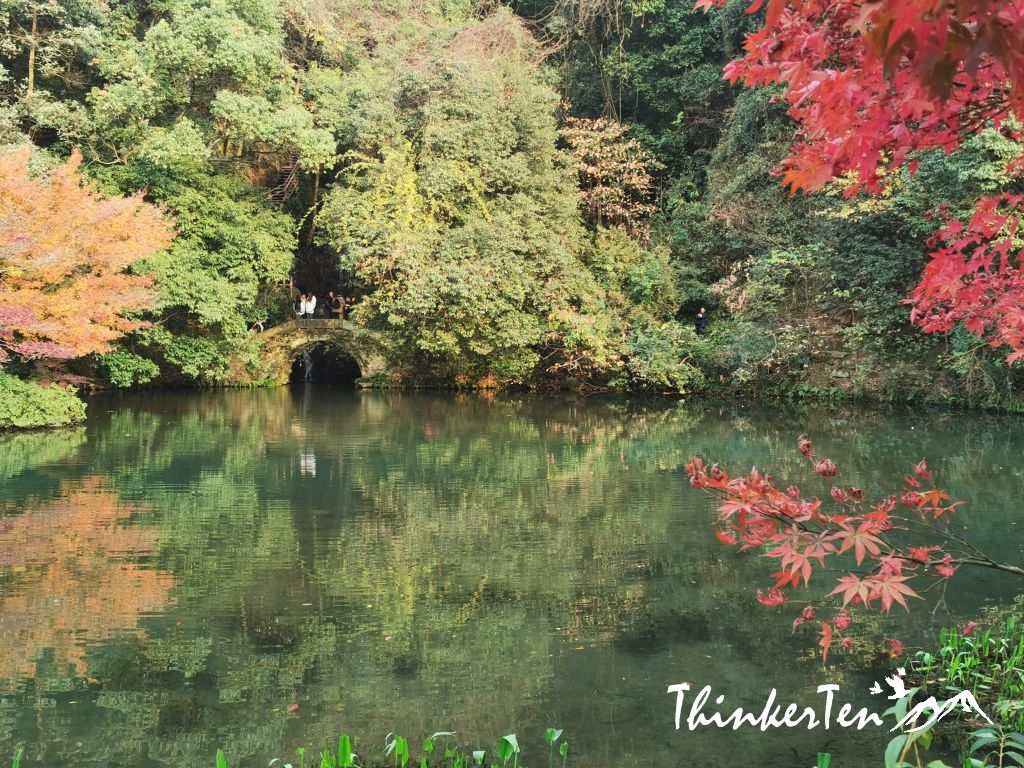 Nine creeks in misty forest 九溪烟树 in West Lake Hangzhou